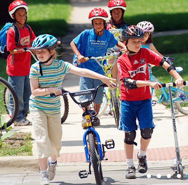 Washington Residents Support Safe Bike and Walking Routes for Children