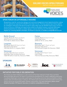 Affordable Housing Forums