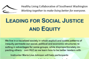 HLC to offer Equity Training to our Community Partners