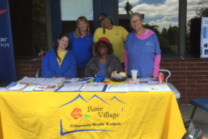 Junteenth 2019 with the Rose Village CHW team