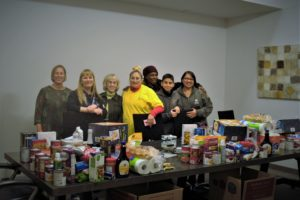 Rose Village CHWs support families during the holidays